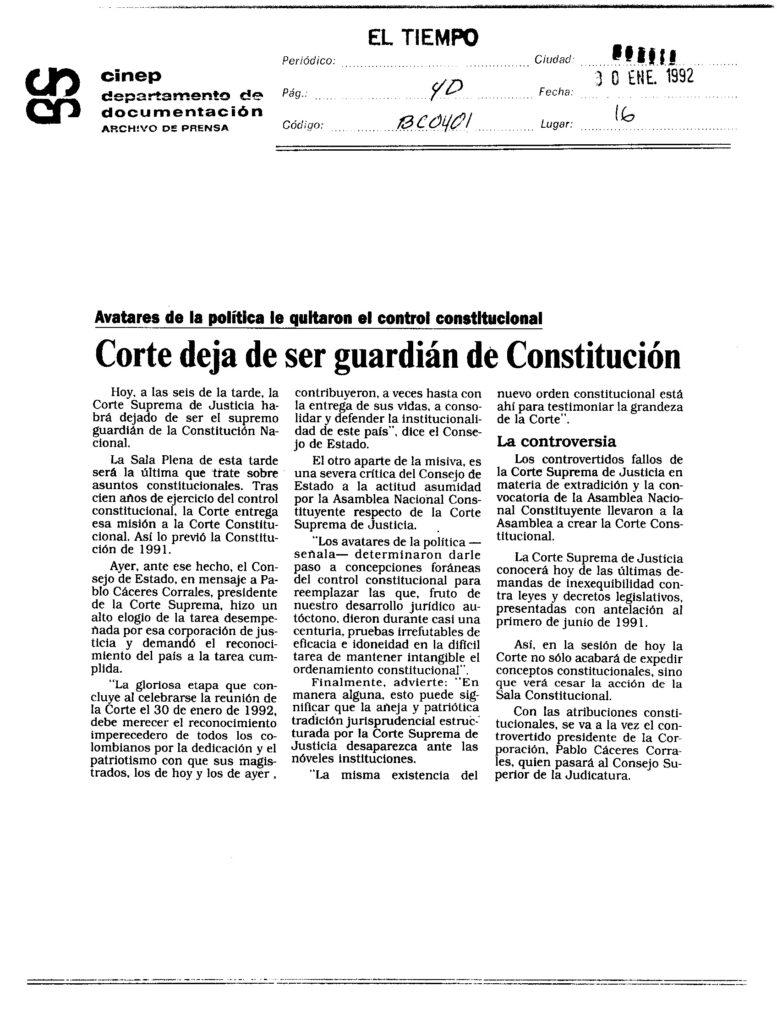 Foto: Archivo de prensa Cinep